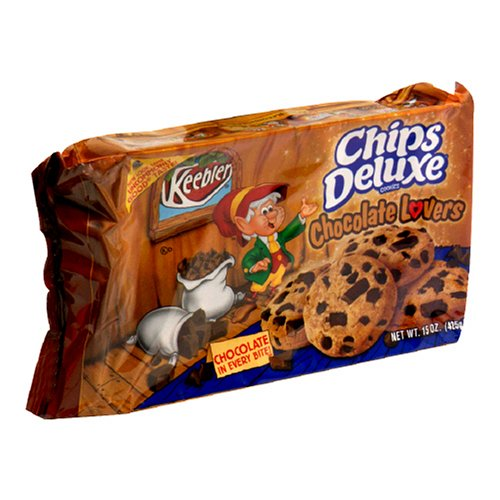 Chips Deluxe Cookies, Chocolate Lovers, 15-Ounce