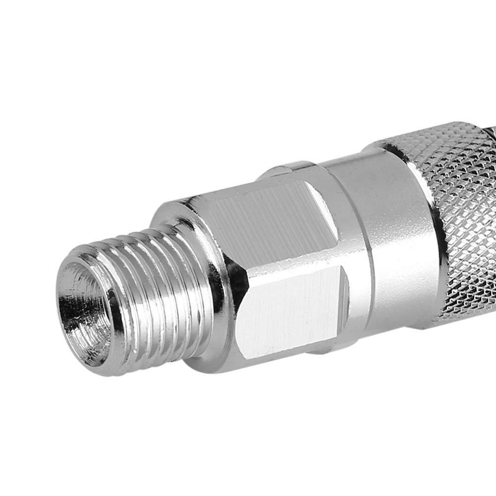 Knickfreie Pistole an Schlauchanschluss MAGT 1//4-Zoll-Hochdruckreiniger aus rostfreiem Stahl Anti-Twist-Hochdruckreiniger-Drehgelenk