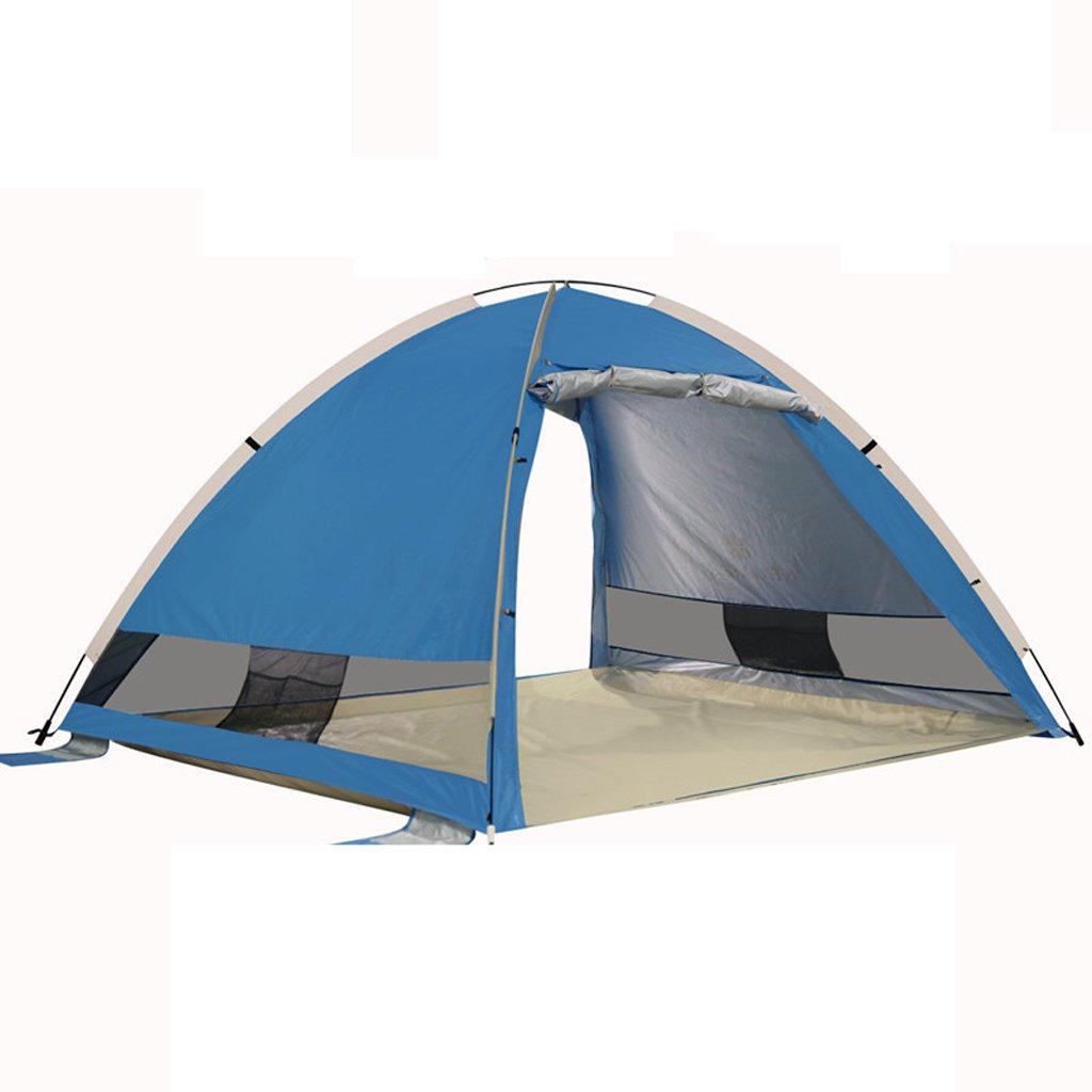 Unbekannt Zelt Im Freien Kampierendes Zelt Windproof Automatisches Pop-up-Sonnenschutzzelt Wasserdichtes Sonnenschutzzelt Offenes Fischen Verschüttete Küstenzelt