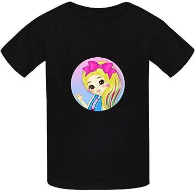 LIURIC JoJo Si-wa Graphic T-Shirts Children Boys and Girls Short-Sleeved T-Shirt