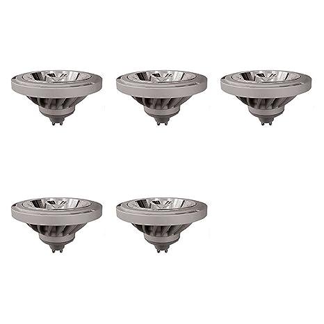 Wurth Foco LED GU10, 12 W, blanco natural, 5 piezas, 5 unidad