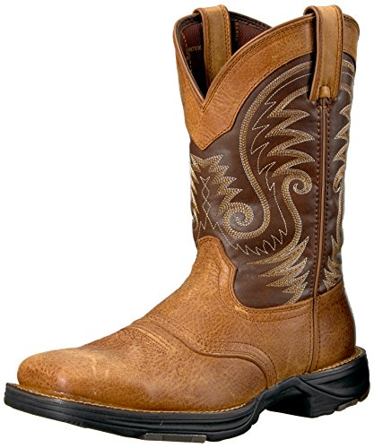 Durango Mens Ddb0110 Western Boot Saddle Brown/Chocolate