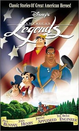 Amazon.com: Disney's American Legends: Paul Bunyan, John Henry ...
