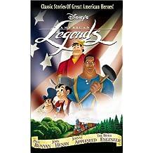 Live Action Comedy Anime Disneys American Legends Paul Bunyan John Henry Johnny Appleseed The Brave Engineer
