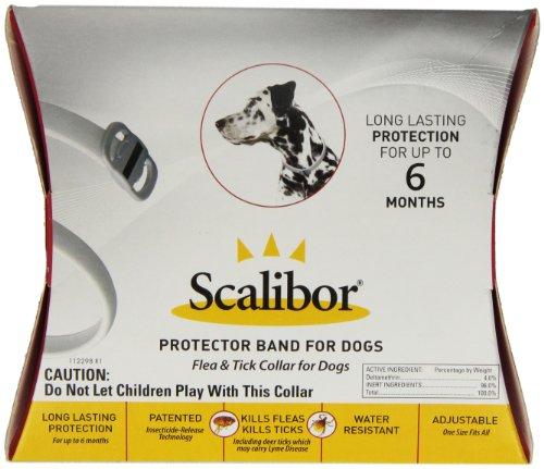 Merck Scalibor Protector Band Flea Collar for Dogs
