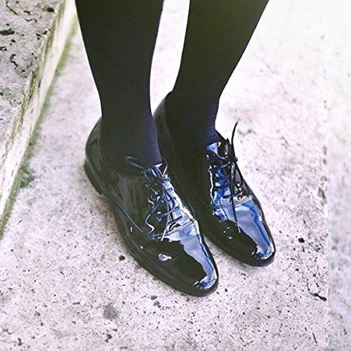 Stringate Paris Donna nero Scarpe Exclusif Ex0qSB8