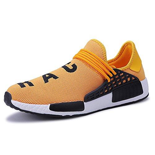 comode Scarpe XIANV Leggere Sportive Corsa da Sneakers Sneaker da Oro Uomo qUxCPxw