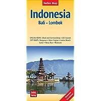 Nelles Map Landkarte Indonesia : Bali, Lombok: reiß- und wasserfest; waterproof and tear-resistant; indéchirable et imperméable; irrompible & impermeable | 1 : 180,000