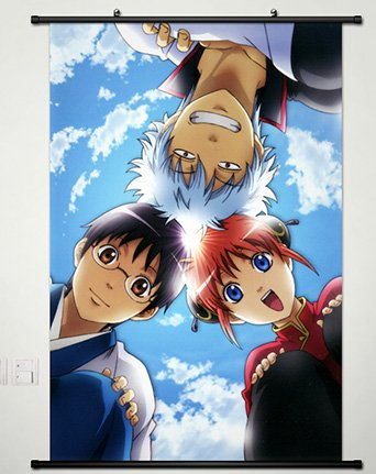 Amazoncom Wall Scroll Poster Fabric Painting For Anime Gintama