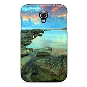 New Design Shatterproof Case For Galaxy S4 (beach Stones)