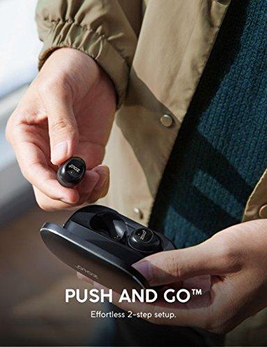 ZOLO Liberty Cuffie True Wireless, Cuffie Bluetooth con Driver in Grafene e Autonomia di 24 Ore, Resistenti al Sudore, Cuffie Senza Fili per Wireless Totale e Supporto Smart per Assistenti Virtuali. 4 spesavip