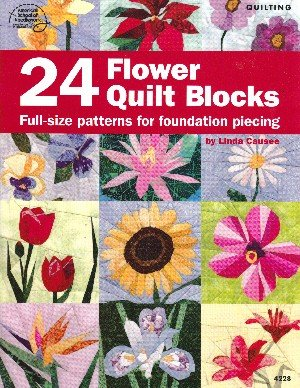 24 Flower Quilt Blocks pdf epub