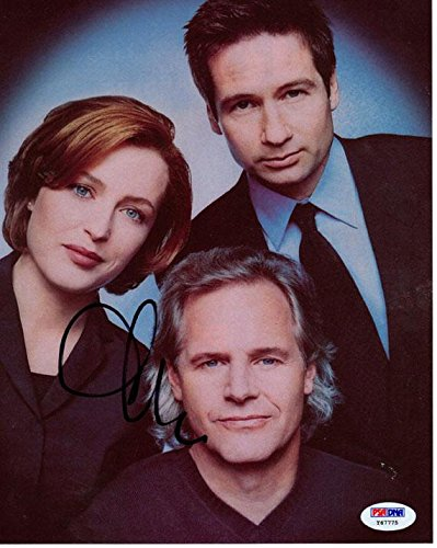 Autographed Cris Carter Photo - Chris X Files Cast 8x10 UACC RD AFTAL - PSA/DNA Certified (Carter Cris Photograph)