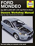 Ford Mondeo Petrol & Diesel Service and Repair Manual: 2007-2012 (Haynes Service and Repair Manuals)