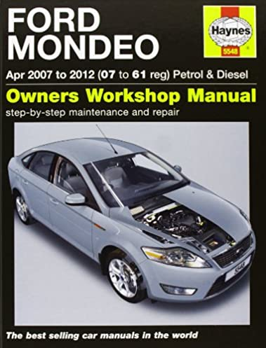 ford mondeo petrol diesel service and repair manual 2007 2012 rh amazon com Ford Mondeo Germany Ford Mondeo Germany