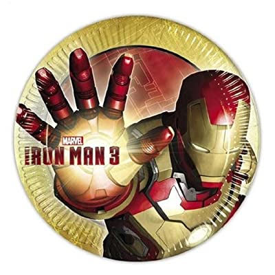 Iron Man 3 8 Person Party Pack: Toys & Games