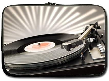435d3891b461 Amazon.com: New Vinyl Record Turntable 13 inch Notebook Laptop Case ...