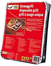 4 x Bar-Be-Quick Large Party Size Instant Barbecue 8-10 Person Disposable BBQ
