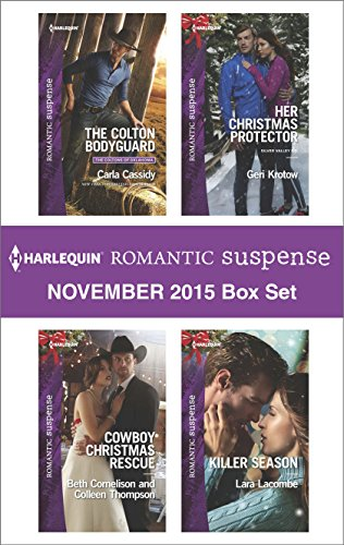 book cover of Harlequin Romantic Suspense November 2015 Box Set