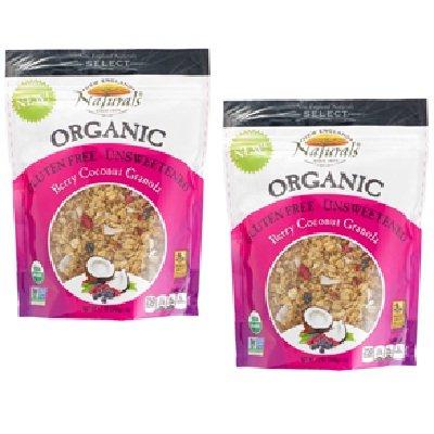 New England Naturals Organic Granola Berry 12 OZ (Pack of 6)