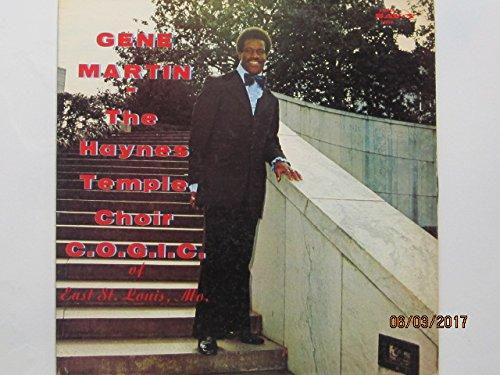 Gene Martin-The Haynes Temple Choir C.O.G.I.C. of East St. Louis, MO. [VINYL - Mall Haynes