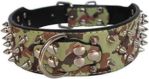 Collar para perro Dogs Kingdom de piel plateada, con cierre de ...