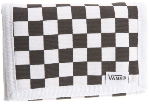 TEST Vans The Slipped Wallet,One Size,Black/White