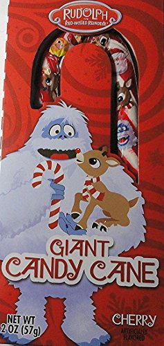 Bumble and Rudolph the Red Nosed Reindeer Giant Candy Cane