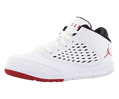 fe6ce7a7e623 Jordan Flight Origin 4 White Gym Red-Black (Little Kid) (1.5