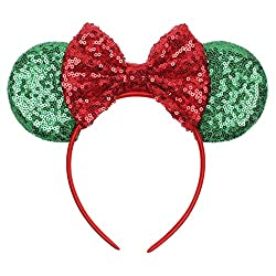 Mouse Ears Bow Headbands