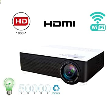 Link Co Proyector HD 1080P con Nativo 1920x1080P Bluetooth ...