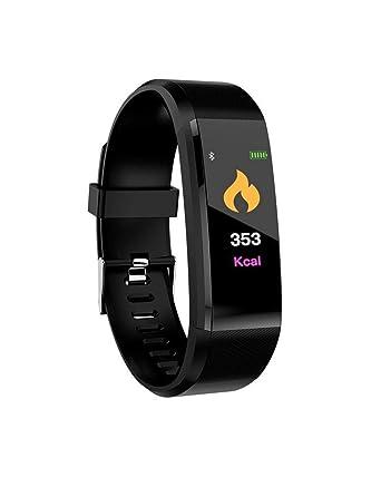 Chantefeuille ® Montre Connectée avec Cardiofréquencemètre et tensiomètre pour Femme et Homme Étanche IP67 Android ou