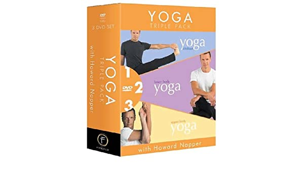 Yoga Triple Pack With Howard Napper Reino Unido DVD: Amazon ...