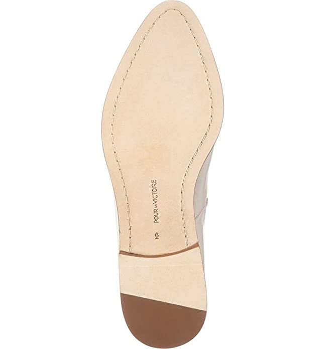 Pour La Victoire Womens Sebina Leather Closed Toe Mules Aesthetic Appearance Slippers Women's Shoes