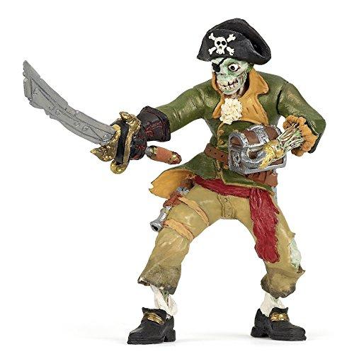Papo Zombie Pirate Figure, Multicolor ()
