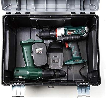 Tactix 42cm Plastic Tool Box, Gray/Black - TTX-320332: Buy Online at Best  Price in UAE - Amazon.ae