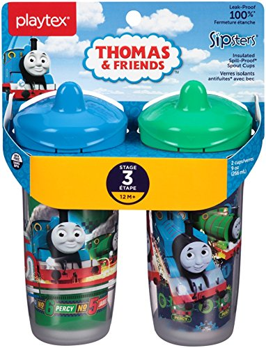 Playtex Sipsters super Friends sport Spout Sippy cups/ /340,2/gram