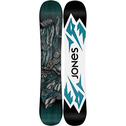 Jones - Mens Mountain Twin Snowboard 2016, 154
