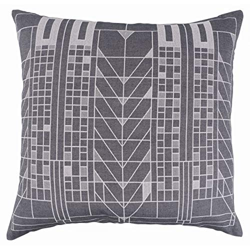 KAF Home Frank Lloyd Wright Woven Jacquard Pillow Cover 18 x 18-inch 100-Percent Cotton (Tree Life)
