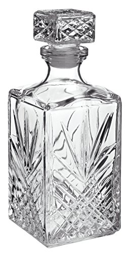 Blue Label Liquor (Bormioli Rocco Selecta 33-3/4-Ounce Decanter with Stopper)