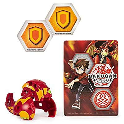 Bakugan Armored Alliance Core 2-inch Collectible Transforming Figure Cycloid (Pyrus Faction): Toys & Games
