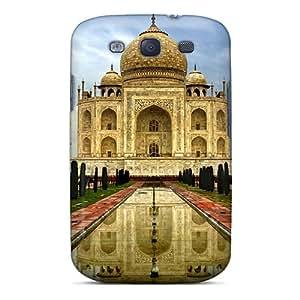 Galaxy S3 Cover Case - Eco-friendly Packaging(india Taj Mahal)