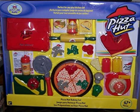 Just Like Home Toy Set : Amazon.com: just like home: pizza hut baking set: toys & games