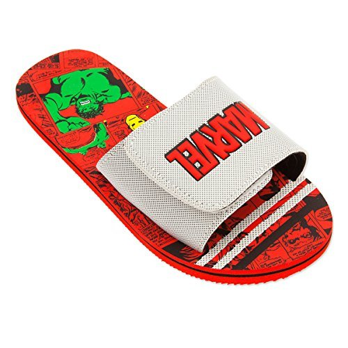 Shop Disney Marvel Avengers Comic Sandals For Kids - Summer Beach (13/1) -