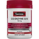 Swisse Ultiboost CoQ10 Co-Enzyme Q10, 180 Count, Heart Health and Antioxidant Support For Sale