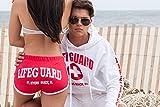 Official Licensed Lifeguard Hi-Cut Shorts, Women, Ladies & Juniors, Great for Beach & Pool