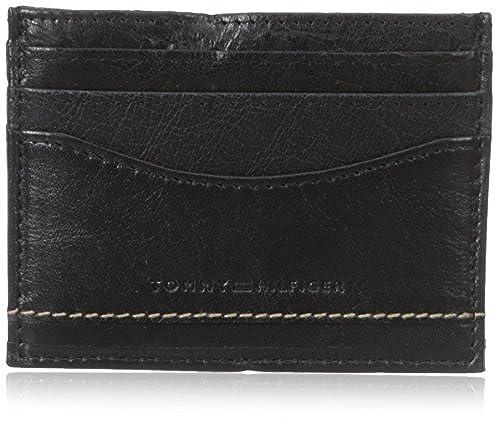 10. Tommy Hilfiger Men's Marvin Card Case