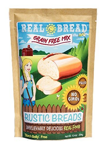 - Paleo-Keto Friendly-Grain Free Rustic Bread Mix 10.2 oz