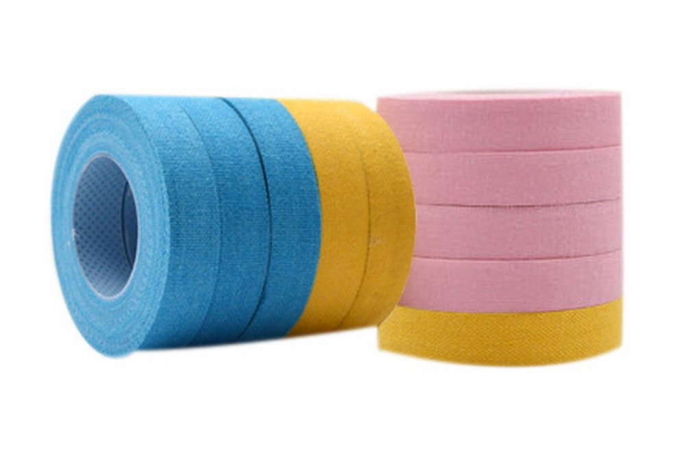 Guzheng Finger Adhesive Tape Accessories 3-Roll Blue Yellow For Each 4-Roll Pink Gentle Meow GM-MUS11967501-ZARA01226