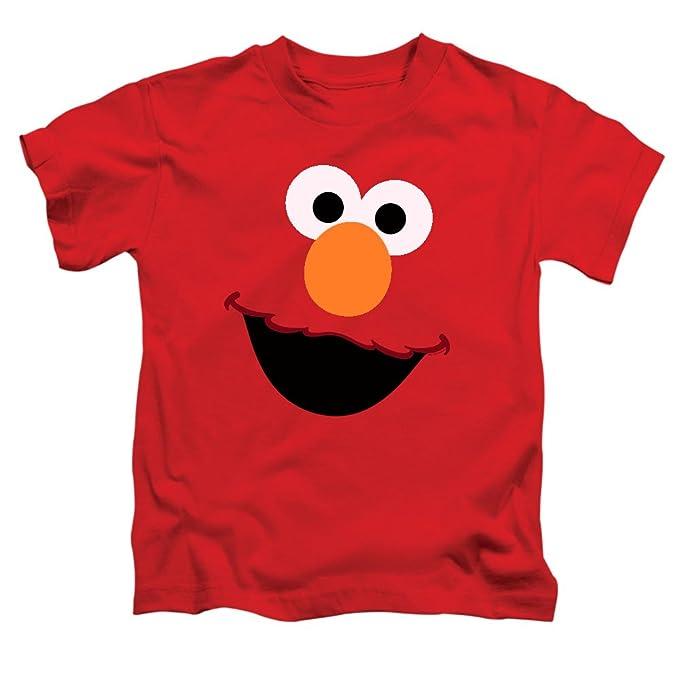 61b4c99aa Amazon.com: Juvenile Sesame Street Elmo Face T Shirt: Clothing